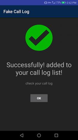 Fake Call Log Generator 1 1 Download APK for Android - Aptoide