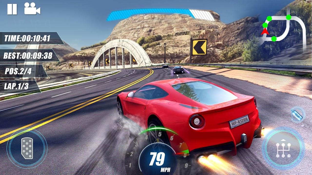 Speedway Drifting- Asphalt Car Racing Games screenshot 1