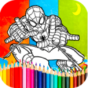 Coloring spiderman Games