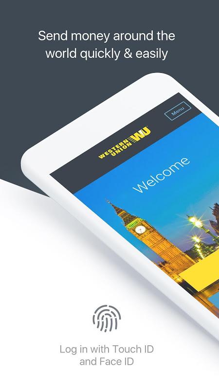 Western Union International: Send Money & Transfer screenshot 1