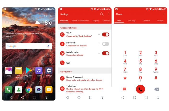 Red Light Theme For LG G6 G5 G4 V20 V10 K10 1 0 8 Download APK for