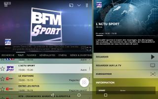 SFR TV Screen