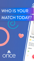 Once - Quality Matches Every day Screen