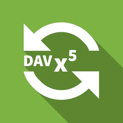 DAVx⁵ (DAVdroid) – CalDAV/CardDAV Client