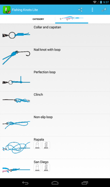Fishing knots download apk for android aptoide for Fishing knots apps