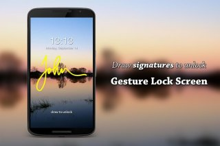 Gesture Lock Screen PRO Screenshot
