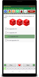 NTSE Exam Class 10 screenshot 1