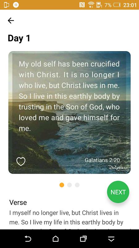 30 Day Bible Study Challenge - Offline Bible Study screenshot 3