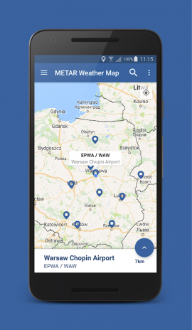Airport Weather Map.Metar Weather Map 2 0 3 Download Apk For Android Aptoide
