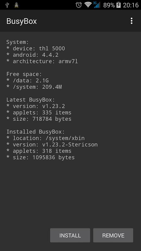 BusyBox screenshot 1