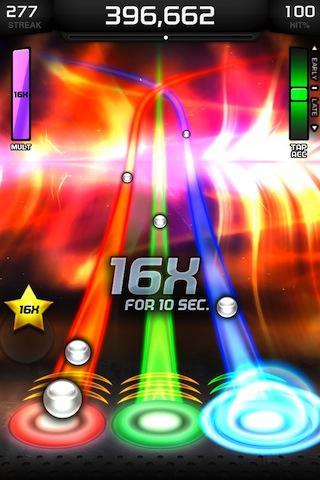 Tap Tap Revenge 4 screenshot 1