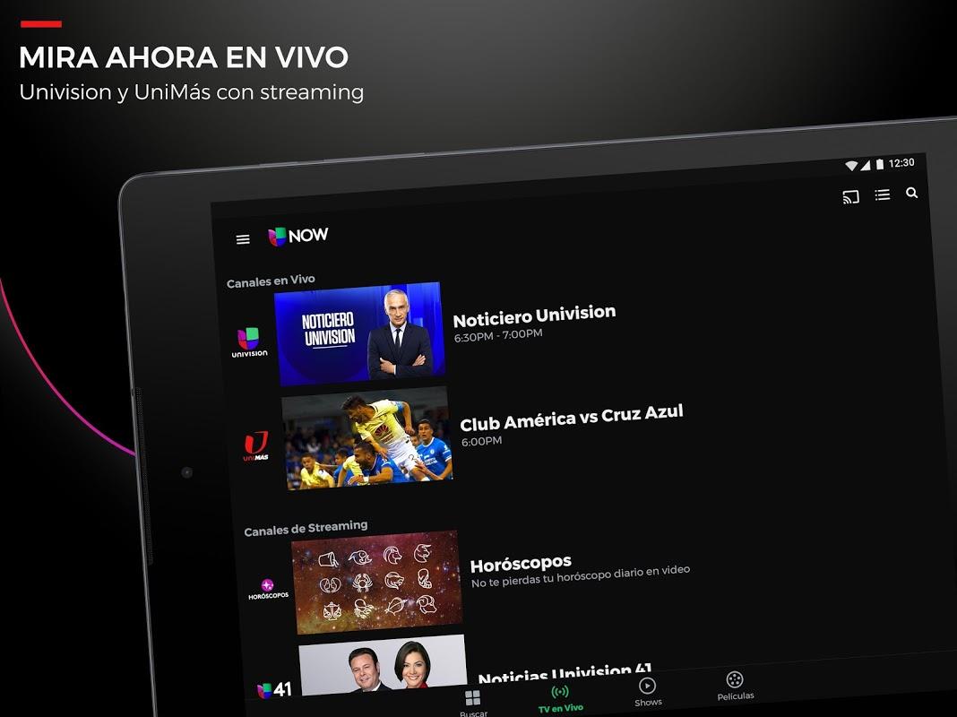 Univision now roku