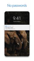 Microsoft Authenticator Screen