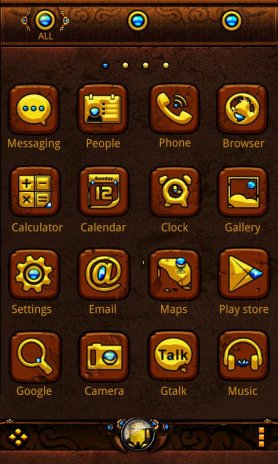 Gold Age GO Getjar Theme 1 0 Download APK for Android - Aptoide