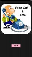 Fake Call & SMS Screen