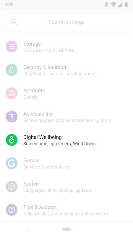 Bem-estar digital screenshot 2