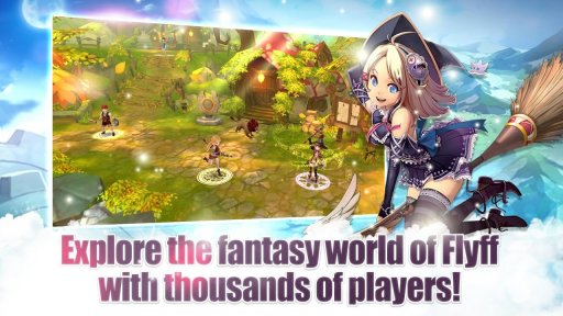 Flyff Legacy - Anime MMORPG screenshot 3