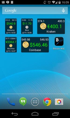 bitcoin dona widget