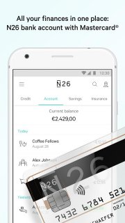 N26 – The Mobile Bank screenshot 1