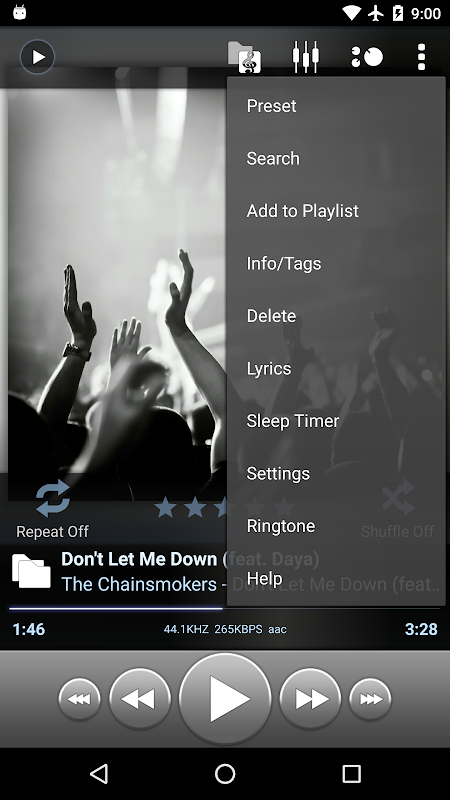 Poweramp screenshot 2
