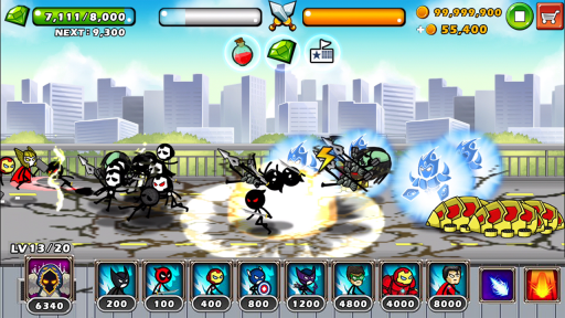 HERO WARS: Super Stickman Defense screenshot 3