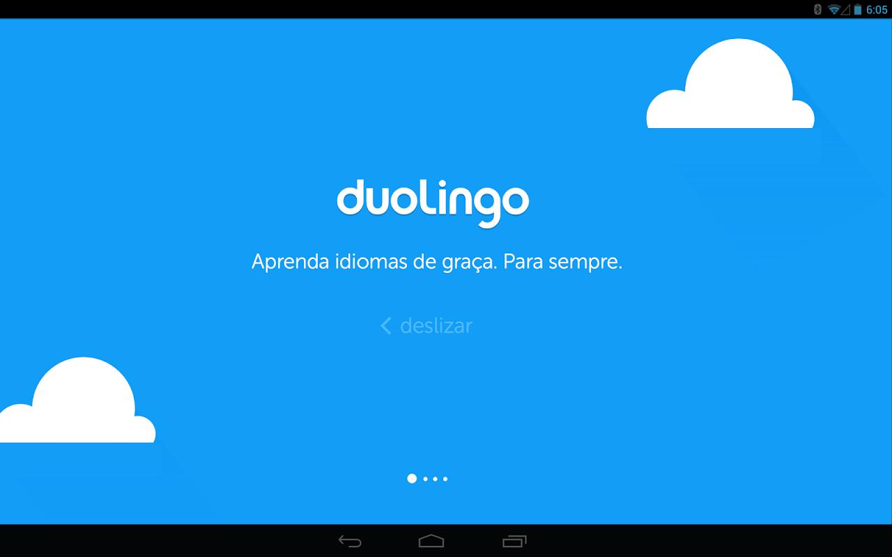 Duolingo: Inglês e Espanhol screenshot 1