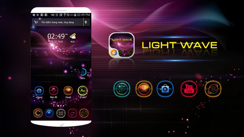 Light Wave - eTheme Launcher 1 0 Download APK for Android - Aptoide