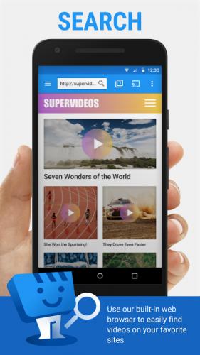 Web Video Cast   Navegador para TV/Chromecast/Roku screenshot 1