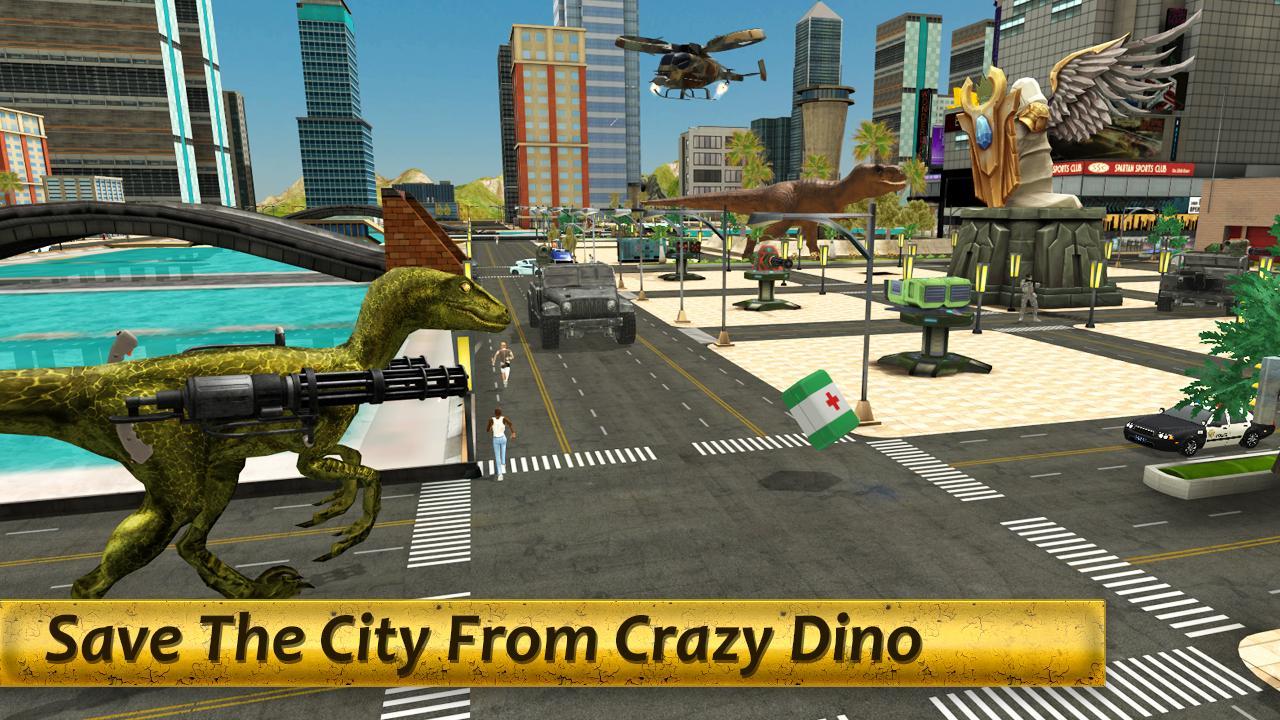 Dinosaur War - BattleGrounds screenshot 2