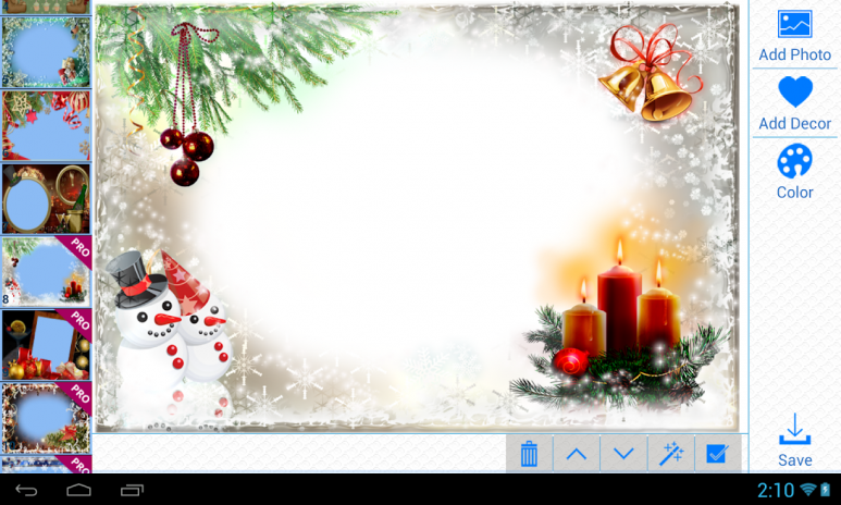 Christmas Photo Frames 2.2.2 Download APK for Android - Aptoide