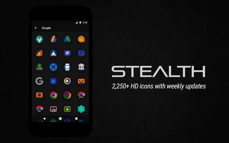 Resultado de imagem para Stealth Icon Pack