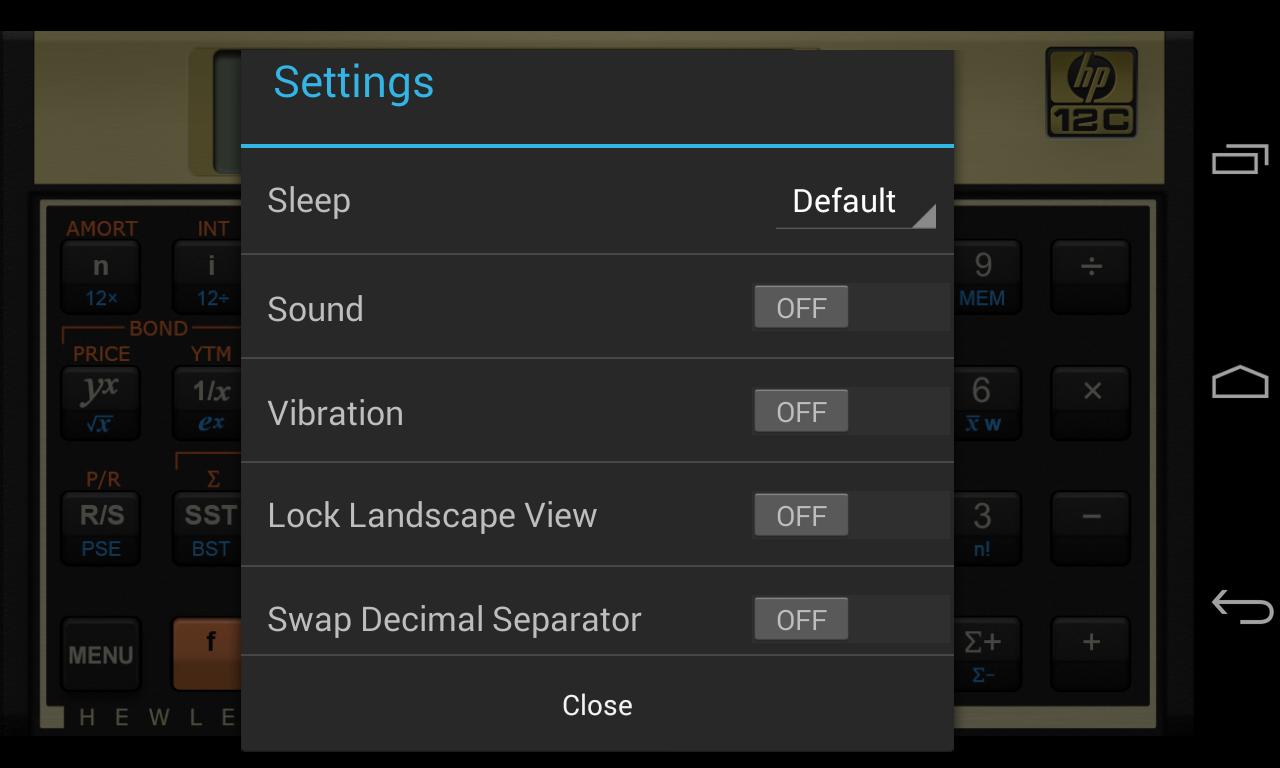 calculadora hp 12c gratis para android