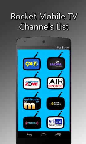 Rocket HDTV- Free Live TV,Mobile TV 5 3 Download APK for