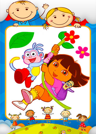 Coloring Dora Games 1.0.2 Download APK for Android - Aptoide