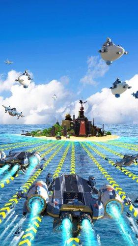 Sea Game: Mega Carrier screenshot 4