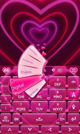 cute go keyboard themes
