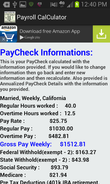payroll check calculator free