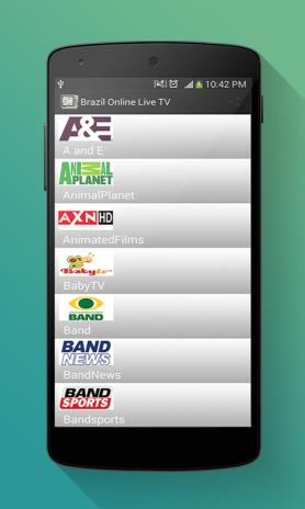 Brazil Online Live TV 1 1 Download APK for Android - Aptoide