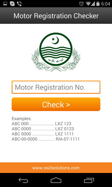 Motor Registration Checker Download Apk For Android