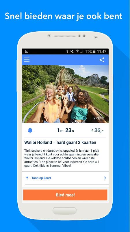 VakantieVeilingen - Dagje uit screenshot 2
