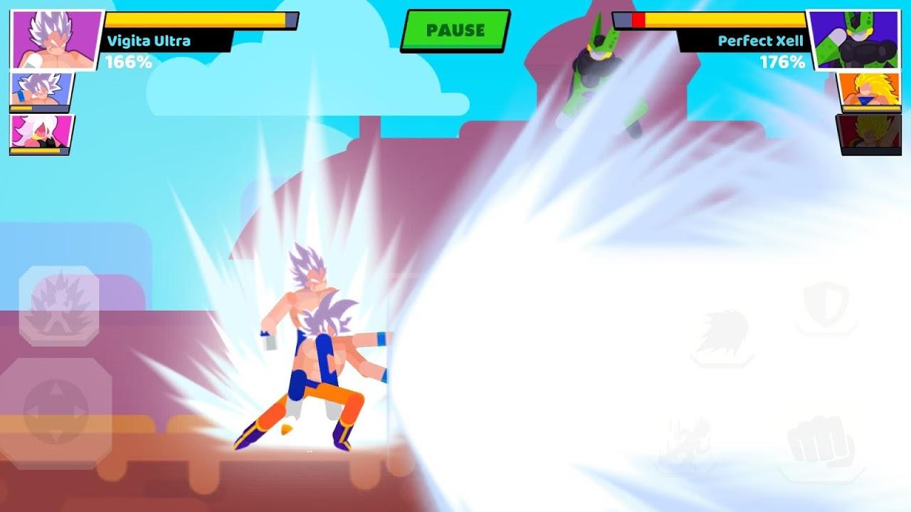 Stickman Warriors: Fighter Street screenshot 1
