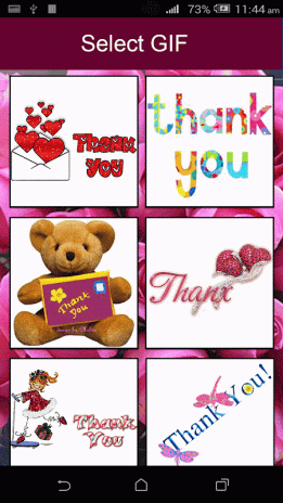 Thank You GIF 4 0 Download APK for Android - Aptoide