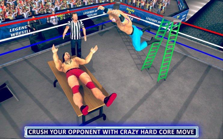 World Wrestling Revolution Mania Real Stars fight 1 0