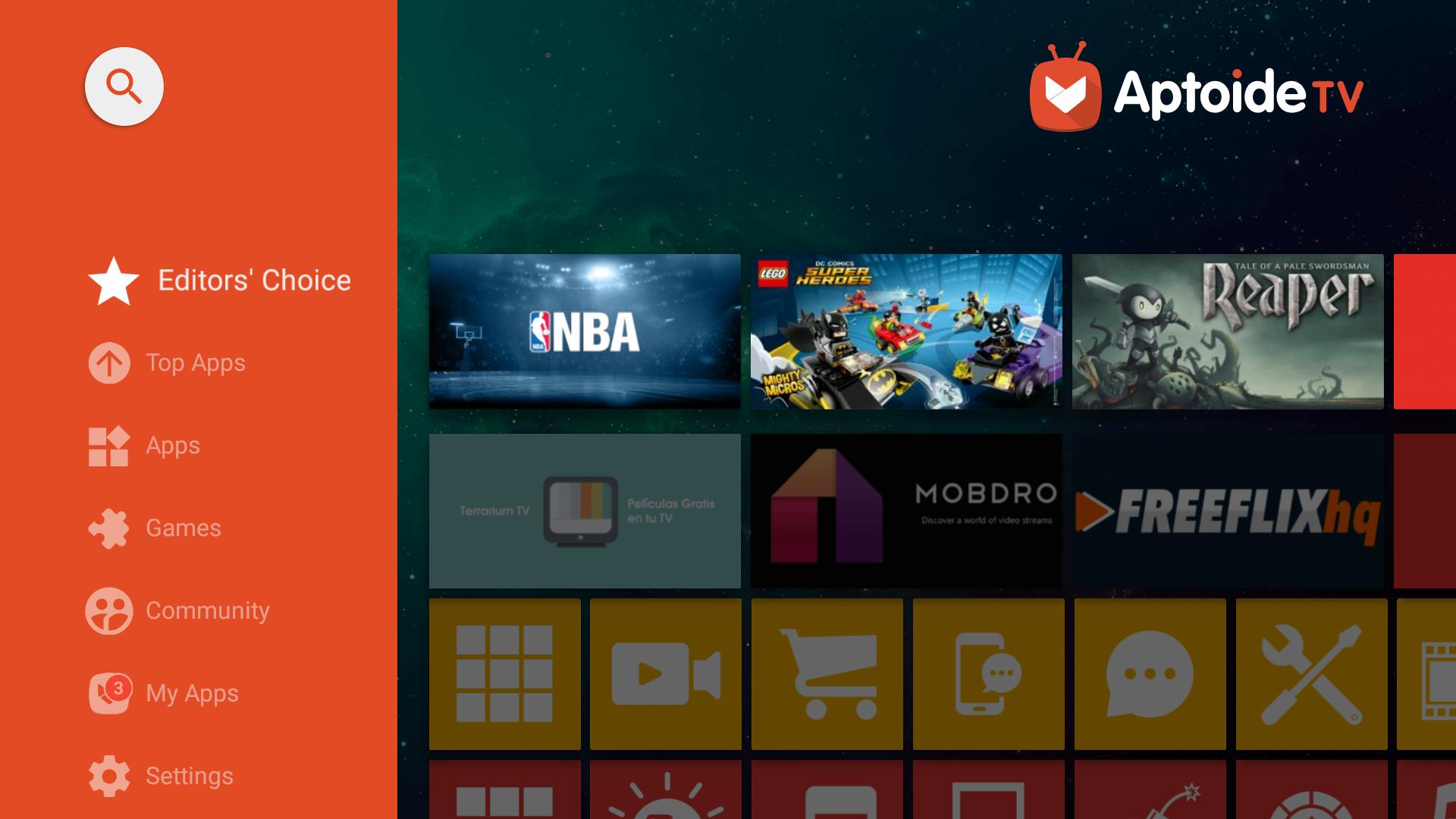 Aptoide TV screenshot 2