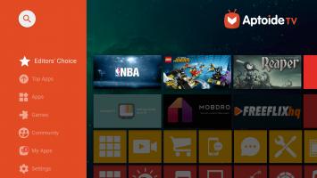 Aptoide TV Screen
