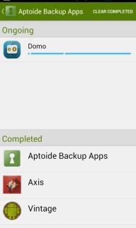 Aptoide Backup Apps screenshot 5