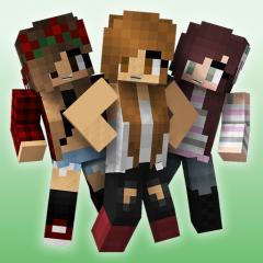 Cute Girl Skins For Minecraft Descargar APK Para Android Aptoide - Descargar skins para minecraft gratis android