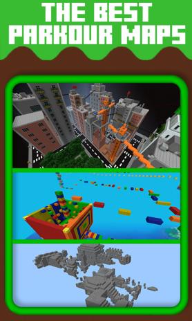 Maps for Minecraft PE Parkour1 0 tải APK dành cho Android - Aptoide