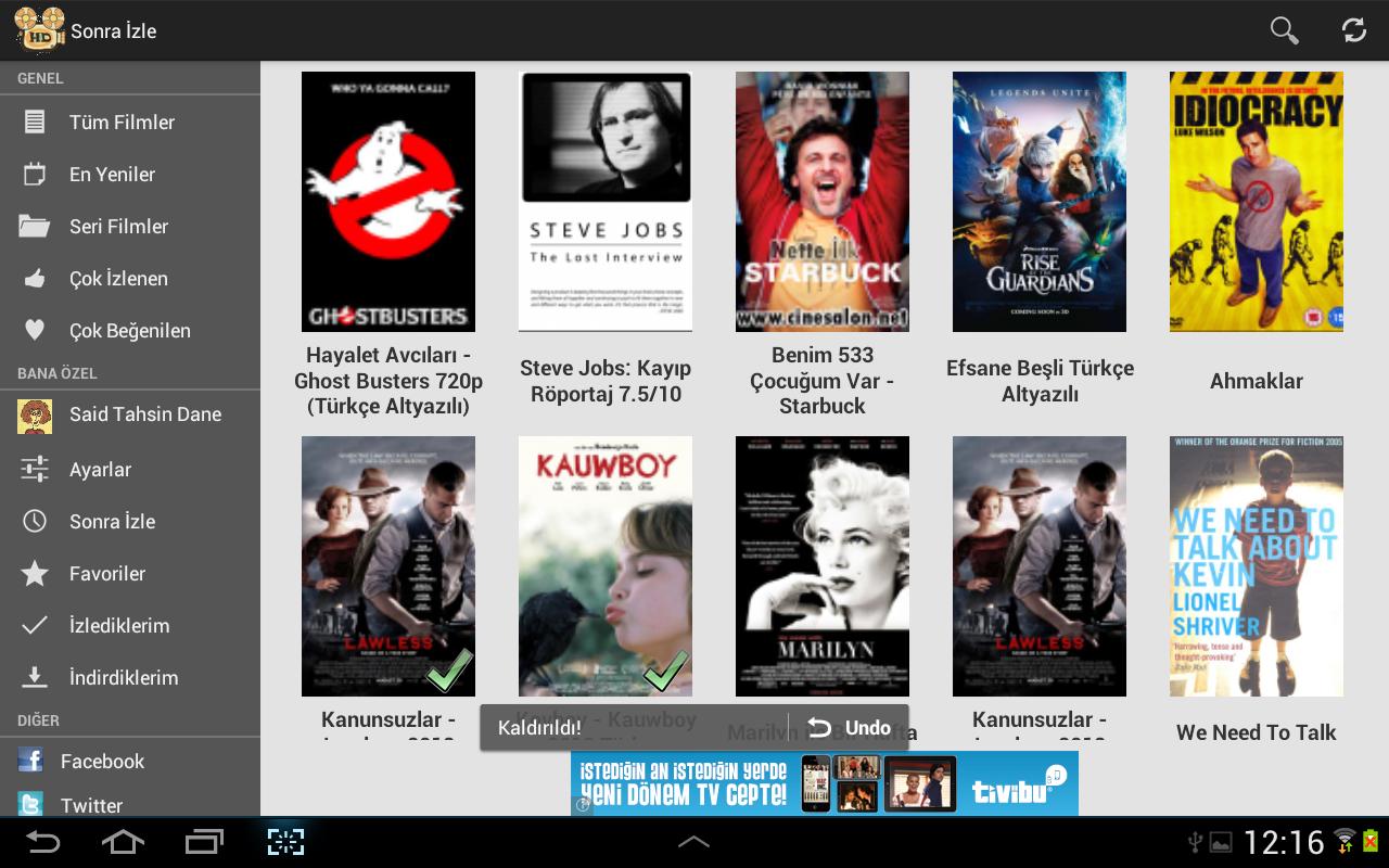 HD Film Izle screenshot 2