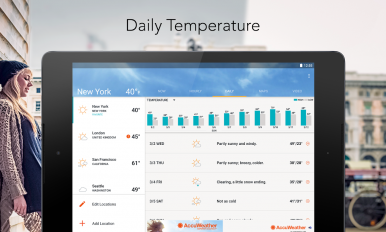 accuweather weather forecast screenshot 17